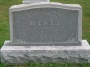Theron Beals Family Headstone